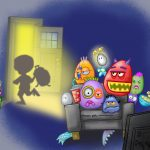 cute monsters, children's emotions, emotional intelligence, and child development