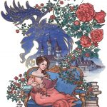 beauty and the beast, a motivational reading book for young children, Books and Reading, A beautiful fairy tale for all ages., prince and princess fairytale, princess, books, and art nouveau