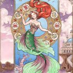 The Little Mermaid, A beautiful fairy tale for all ages., motivational, under the sea, mermaid, beautiful art, and art nouveau