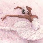 ballet, ballerina, dance, and a picture book