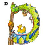 alphabet and word recognition and seek and find