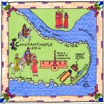 geography history, map illustration, and Middle Ages