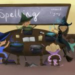little witch, Spells, classroom, sea witch, Witches, children's books mermaid, and mermaid