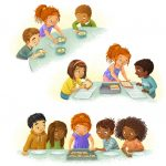 lunch, lunchroom, School Lunch, Back to School, and Diversity
