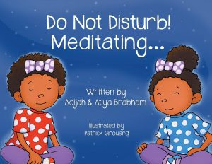 Do Not Disturb! Meditating Picture Book Cover | A story about mindfulness for young children