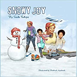 Snowy Joy, a middle grade multicultural book