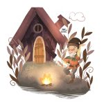 magical, Grimm fairy tale, and Grimm Brothers