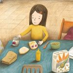 At home, Poverty, A girl and her horse, A Mother's Love, and Struggles