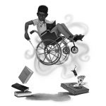 African American boy, diveristy, disability, Wheelchair, and Magic