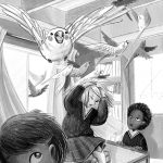 MIddleGrade, funny, classroom, Back to School, students, birds in flight, and Animals