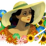 Portrait, Latino/Hispanic/Mexican Interest, hollywood, actor, and  flowers