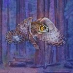 Great Horned Owl, Children's Nature Picture Book, nature, and environment