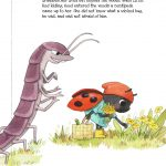 ladybug, centipede, Little Red Riding Hood, and Fairytale Retelling