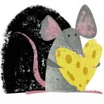#mouse, Cheese, and heart
