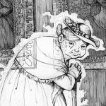 Ghosts,  pen and ink, and middle grade