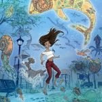 Navajo, Adventure Fantasy, Adventure/Mystery, middle grade, under the sea, coming of age, magic,  Illustration, Book illustration, and girl/teenage empowerment