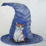 cats,  hats, witches, and Fear and anxiety
