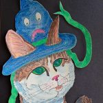 cats,  hats, witches, and confronting fears
