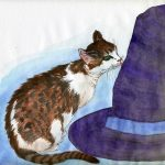 cats,  hats, witches, and curiousity