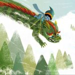chinese dragon, dragon, Winter,  snow, Friendly Monsters, Japan, and friends