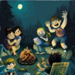 campfire stories, campfire, scary, and spooky stories
