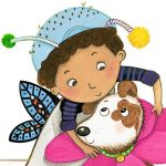 girl and dog, #Friendship, Pets, and arts and crafts